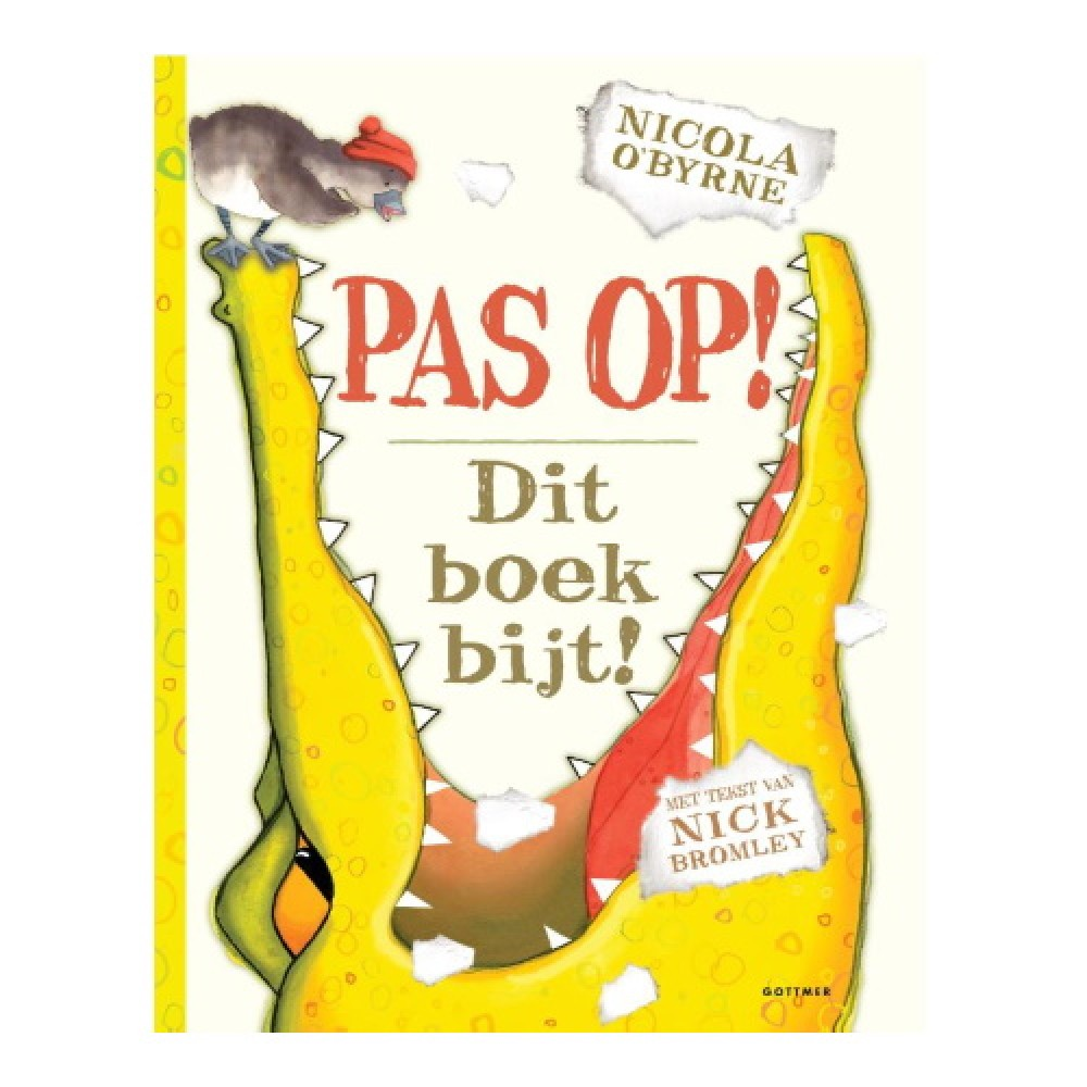 Pas op! Dit boek bijt!
