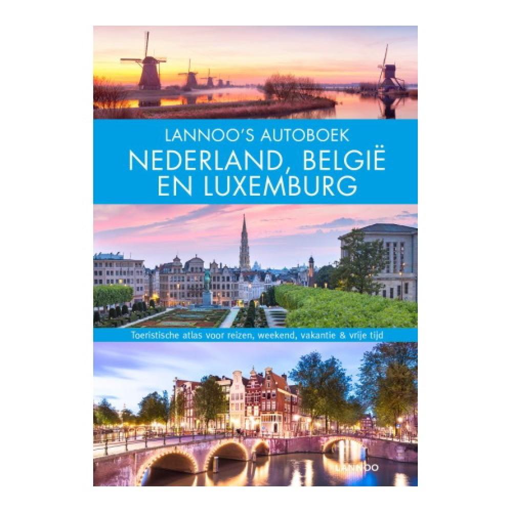 Lannoo Autoboek - Nederland, Belgie en Luxemburg