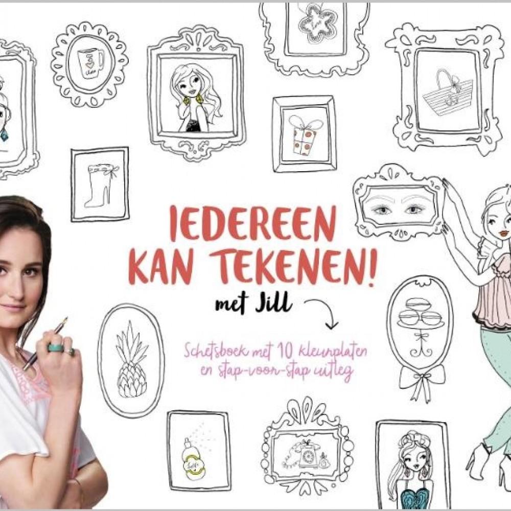 Wonderbaarlijk Iedereen kan tekenen met Jill - Boeken & Tijdschriften - Hallmark YU-57