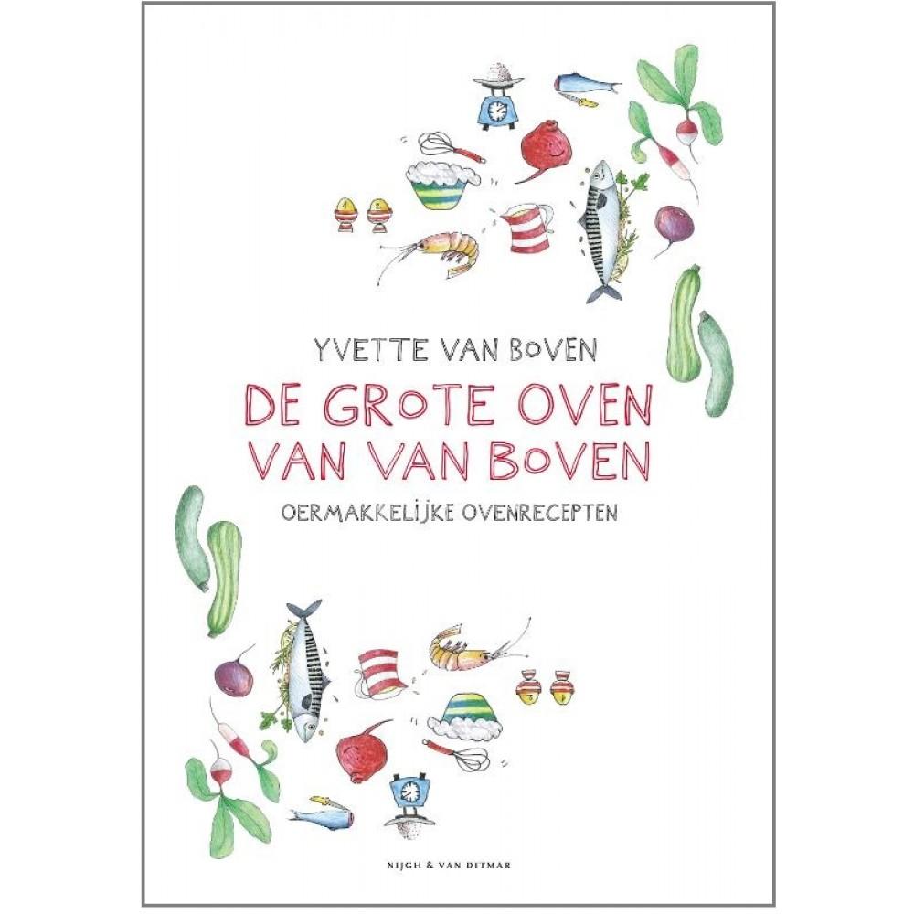 De grote van oven van Van Boven